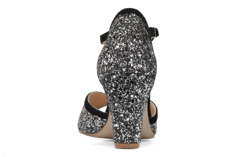 Zapatos de tacón Jonak Damaris Negro vista lateral derecha