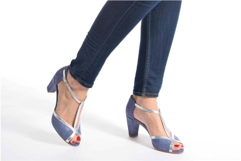 Zapatos de tacón Jonak Damaris Multicolor vista de abajo
