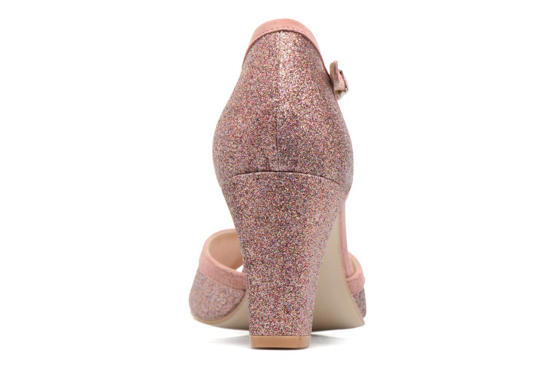 Zapatos de tacón Jonak Damaris Multicolor vista lateral derecha