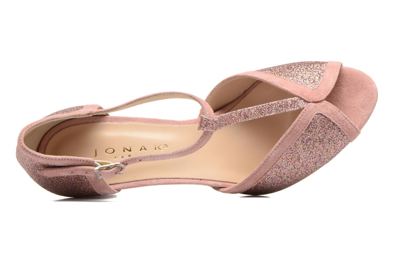 Zapatos de tacón Jonak Damaris Multicolor vista lateral izquierda