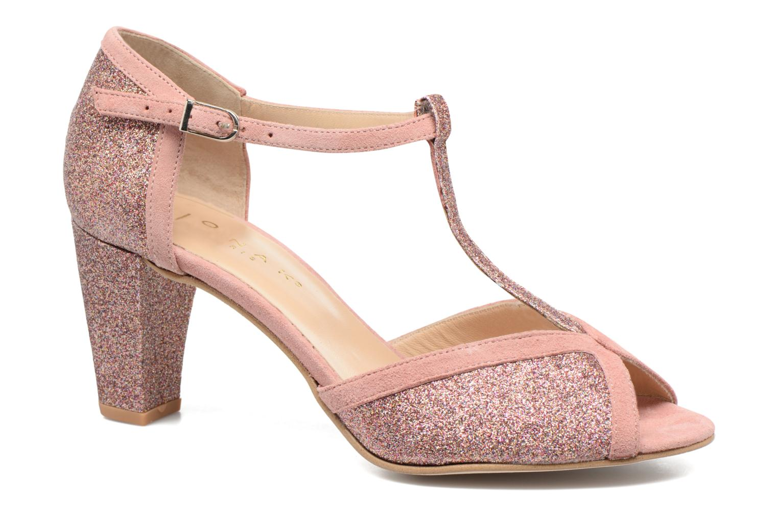 Damaris Velours Rose Pale Ringo + Glitter Fin Multicolore