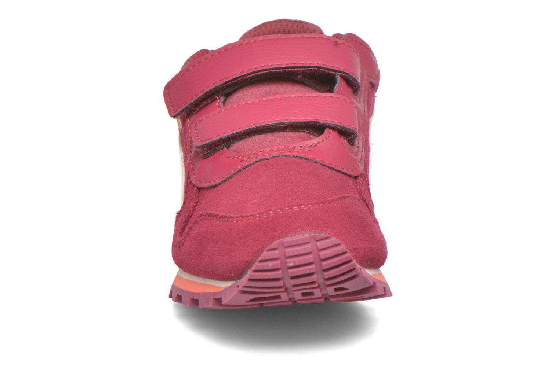 Sneaker Puma Inf St Runner Sd V weinrot schuhe getragen