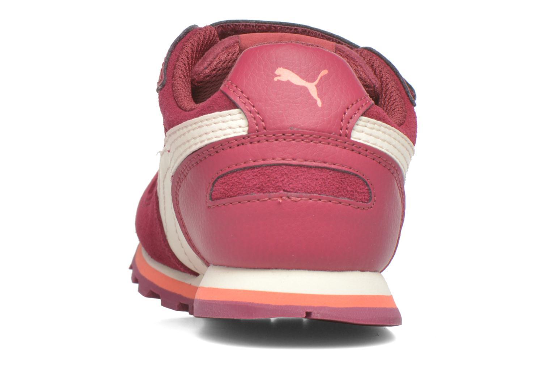 Sneaker Puma Inf St Runner Sd V weinrot ansicht von rechts