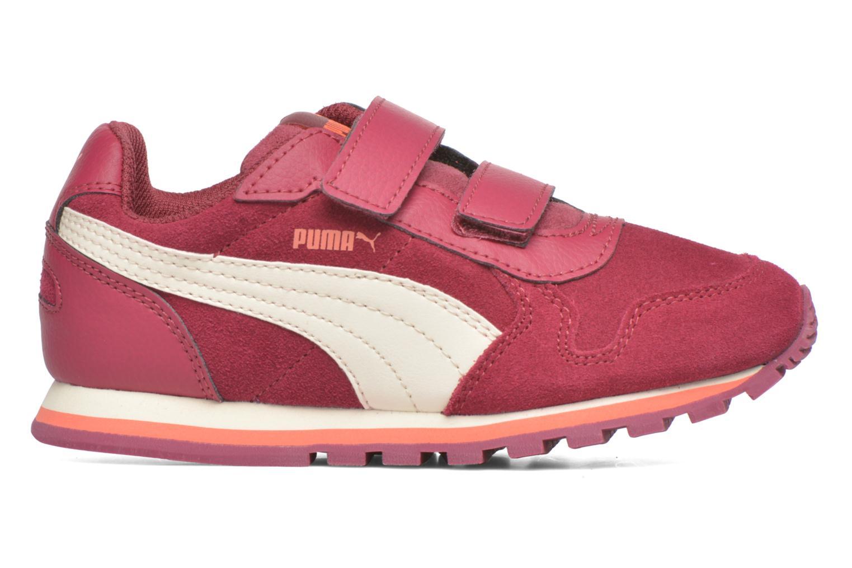 Sneaker Puma Inf St Runner Sd V weinrot ansicht von hinten