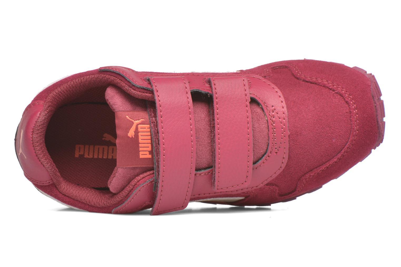 Sneaker Puma Inf St Runner Sd V weinrot ansicht von links