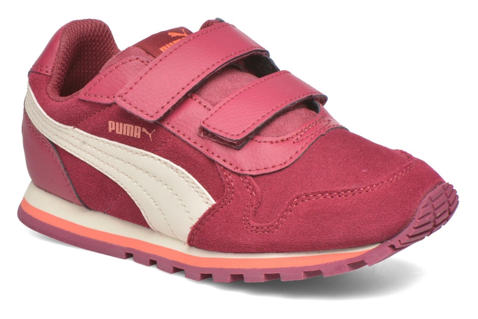 Trainers Puma Inf St Runner Sd V Burgundy detailed view/ Pair view