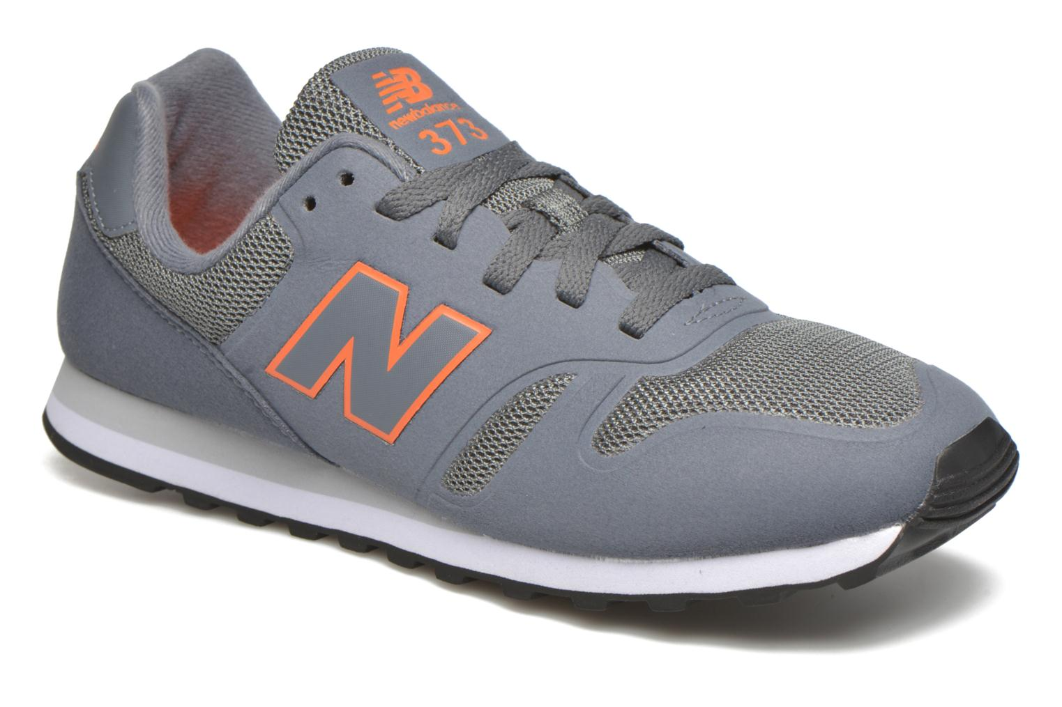 Baskets New Balance MD373 Gris vue détail/paire