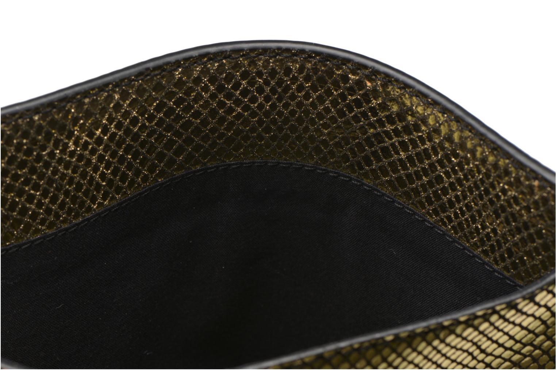 Marroquinería pequeña Petite mendigote Big Etoile Porte iPad Oro y bronce vistra trasera