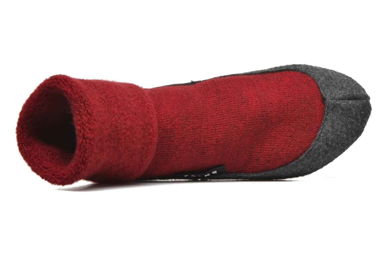 Chaussettes et collants Falke Chaussons-chaussettes Cosyshoes Rouge vue gauche