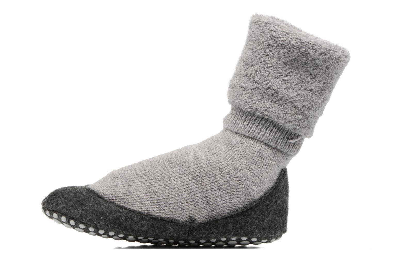 Chaussettes et collants Falke Chaussons-chaussettes Cosyshoes Gris vue face