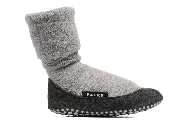 Chaussettes et collants Falke Chaussons-chaussettes Cosyshoes Gris vue derrière