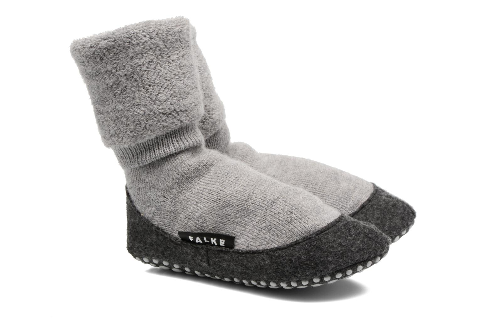 Socks & tights Falke Chaussons-chaussettes Cosyshoes Grey detailed view/ Pair view