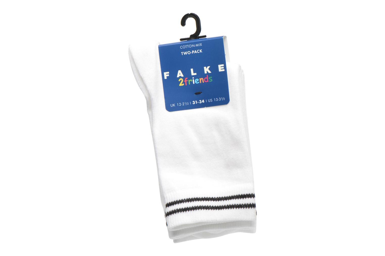 Sokken en panty's Falke Chaussettes 2 Friends Wit achterkant