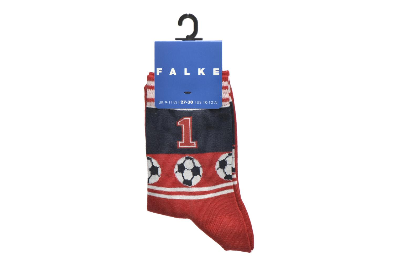 Chaussettes et collants Falke Chaussettes Soccer Rouge vue derrière