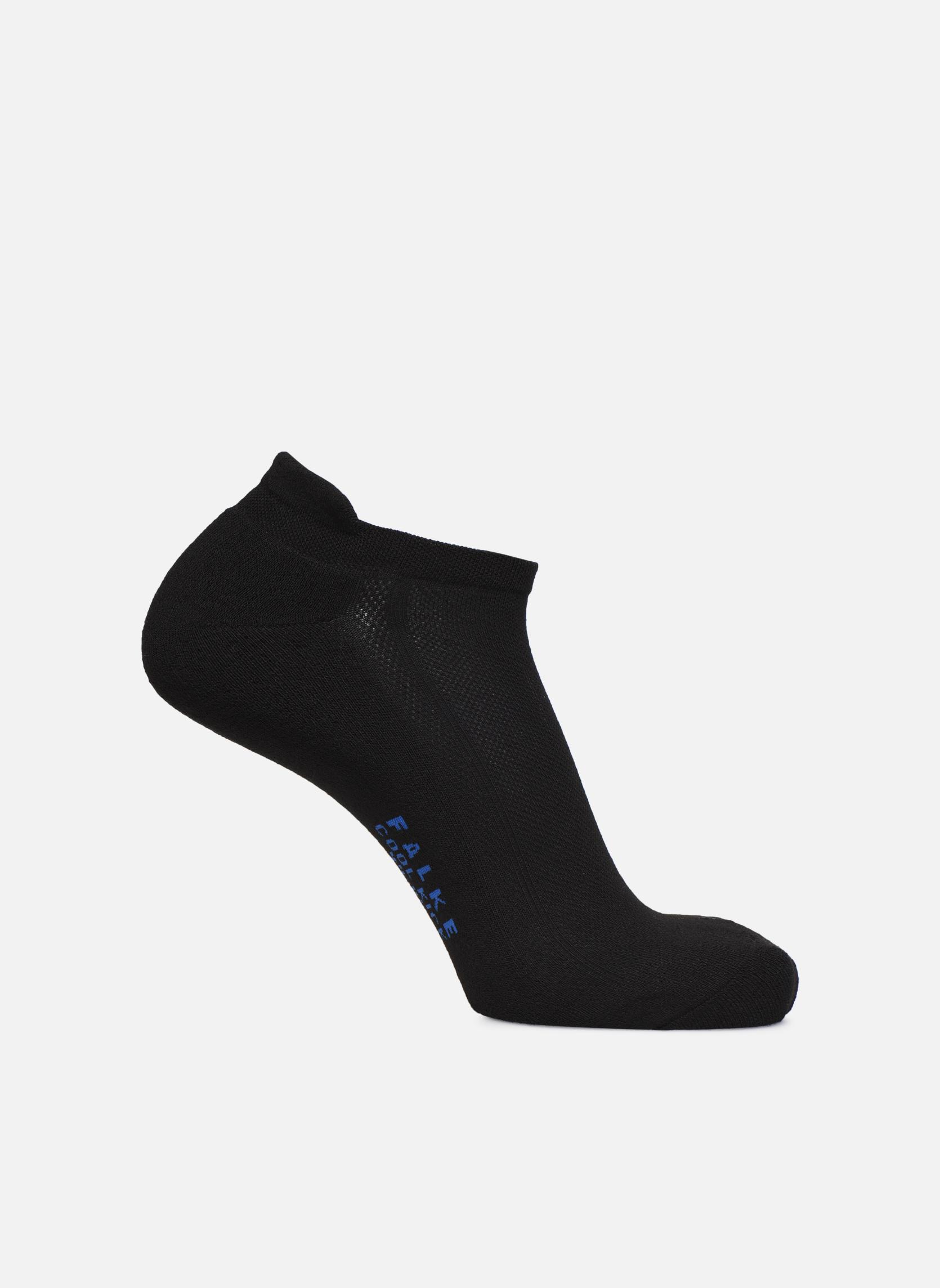 Medias y Calcetines Falke Mini-Socquettes  SN Sport Cool Kick In Negro vista de detalle / par