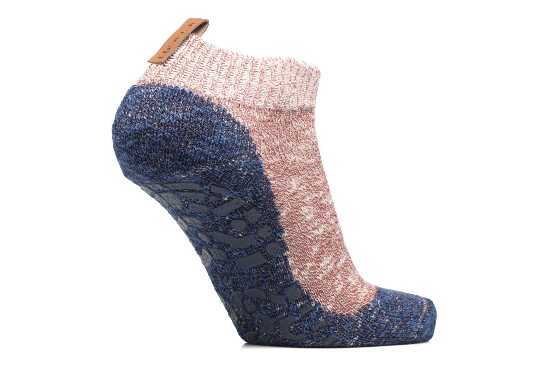 Chaussettes et collants Falke Chaussons-chaussettes Homepads Rouge vue détail/paire