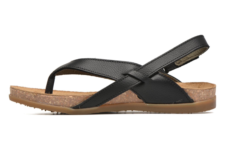 Sandales et nu-pieds El Naturalista Zumaia NF40 Noir vue face