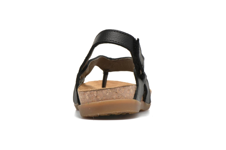 Sandales et nu-pieds El Naturalista Zumaia NF40 Noir vue droite