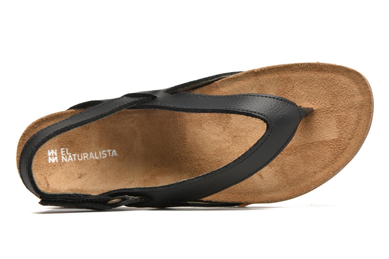 Sandales et nu-pieds El Naturalista Zumaia NF40 Noir vue gauche
