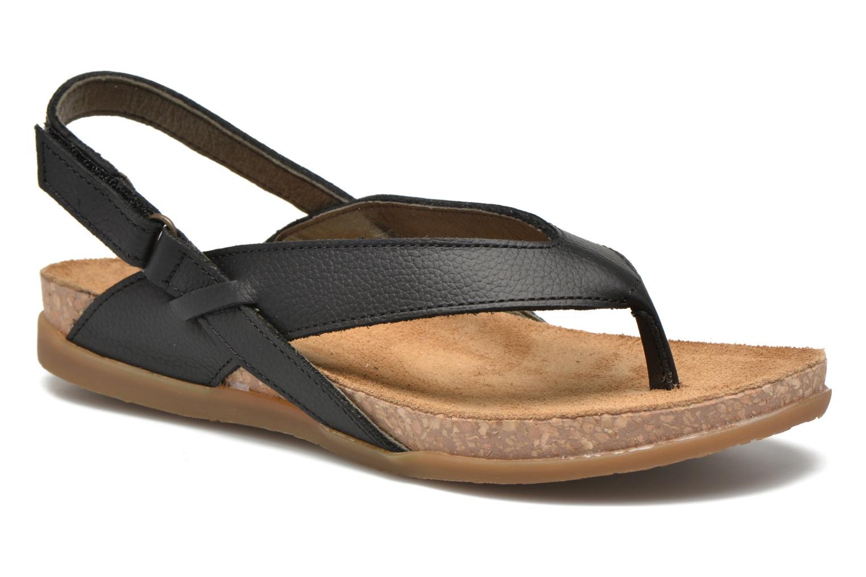 Sandales et nu-pieds El Naturalista Zumaia NF40 Noir vue détail/paire