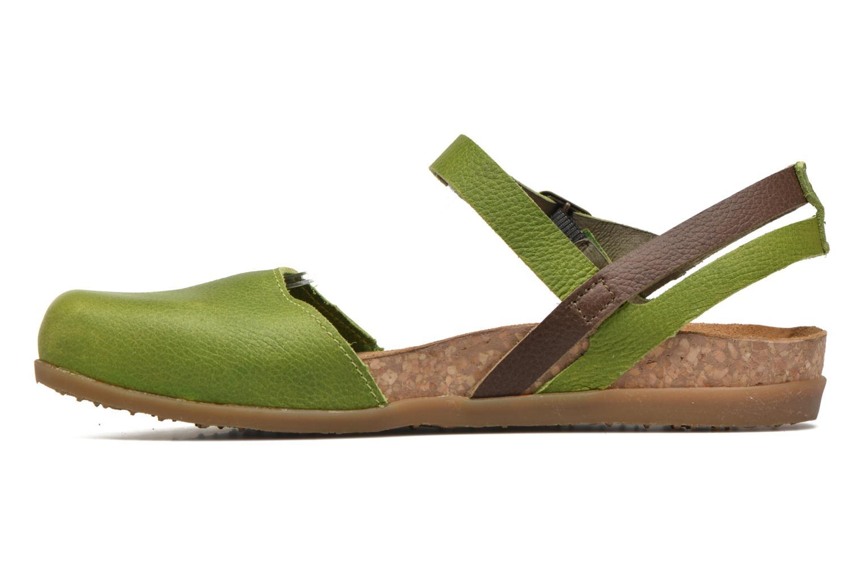 Sandales et nu-pieds El Naturalista Zumaia NF41 Vert vue face