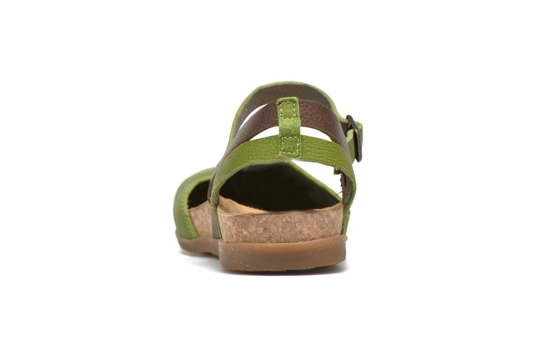 Sandales et nu-pieds El Naturalista Zumaia NF41 Vert vue droite