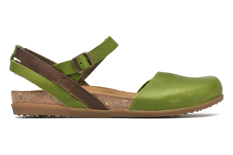 Sandales et nu-pieds El Naturalista Zumaia NF41 Vert vue derrière
