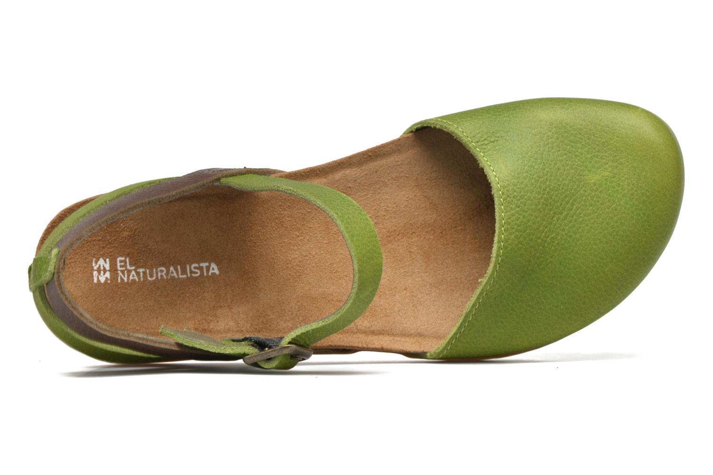 Sandales et nu-pieds El Naturalista Zumaia NF41 Vert vue gauche
