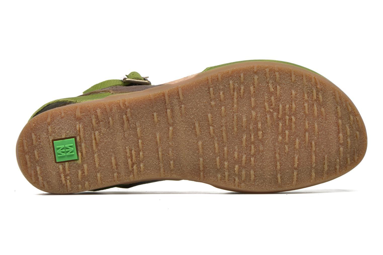 Sandales et nu-pieds El Naturalista Zumaia NF41 Vert vue haut