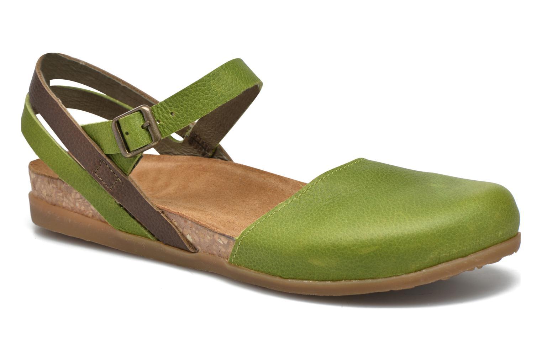 Sandales et nu-pieds El Naturalista Zumaia NF41 Vert vue détail/paire