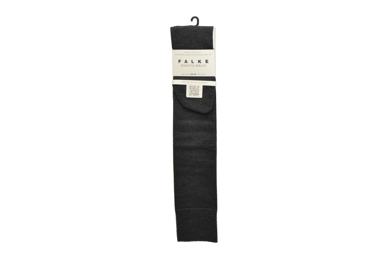 Chaussettes et collants Falke Chaussettes hautes Berlin Sensitive Gris vue détail/paire