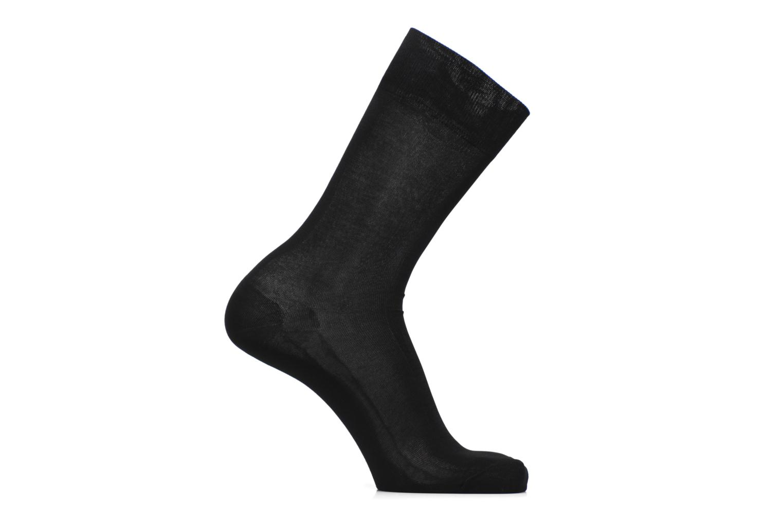 Sokken en panty's BLEUFORÊT Chaussettes 100% Fil d'Ecosse Zwart detail