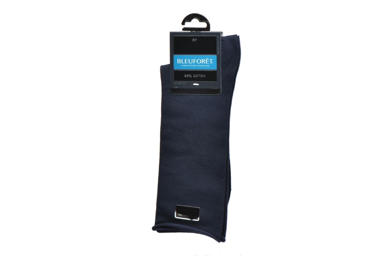 Chaussettes et collants BLEUFORÊT Chaussettes Veloutées Bleu vue derrière