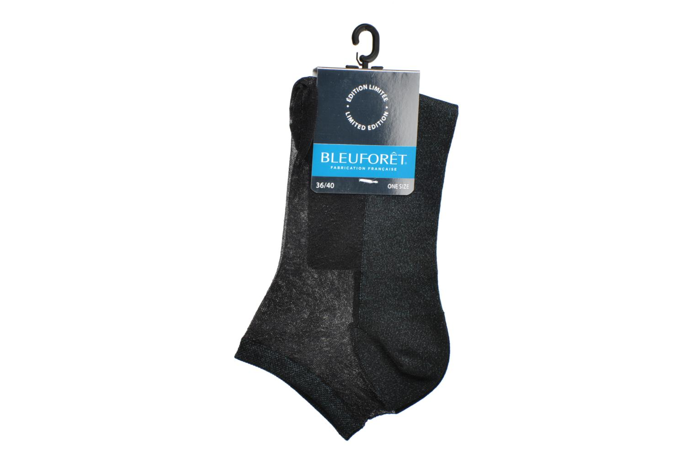 Socken & Strumpfhosen BLEUFORÊT Mini-socquettes Constellation blau ansicht von hinten
