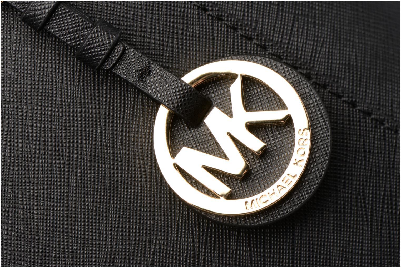 Handtaschen Michael Michael Kors JET SET ITEM EW TZ Tote schwarz ansicht von links