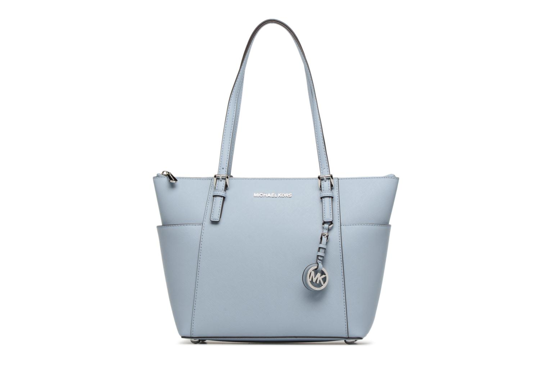 Handbags Michael Michael Kors JET SET ITEM EW TZ Tote Blue detailed view/ Pair view
