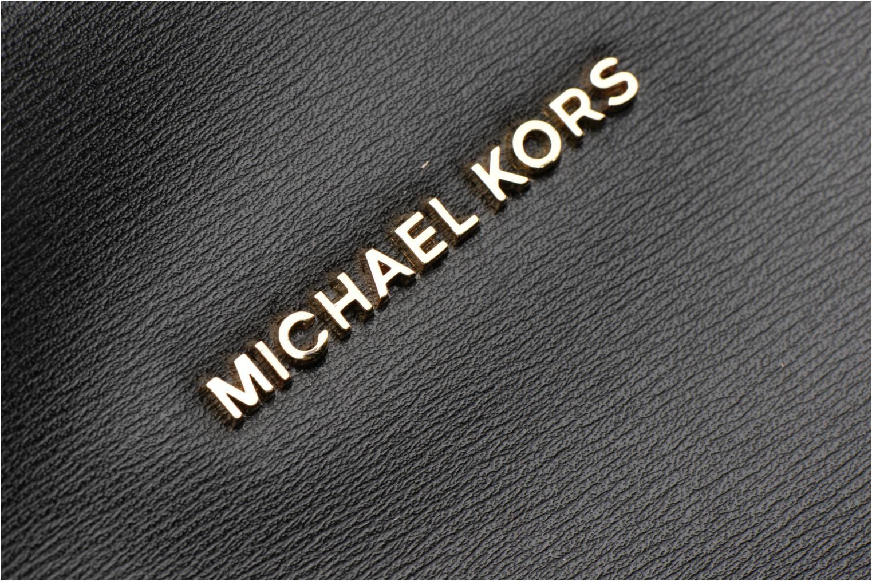 Sacs à main Michael Michael Kors EMRY LG Tote Noir vue gauche