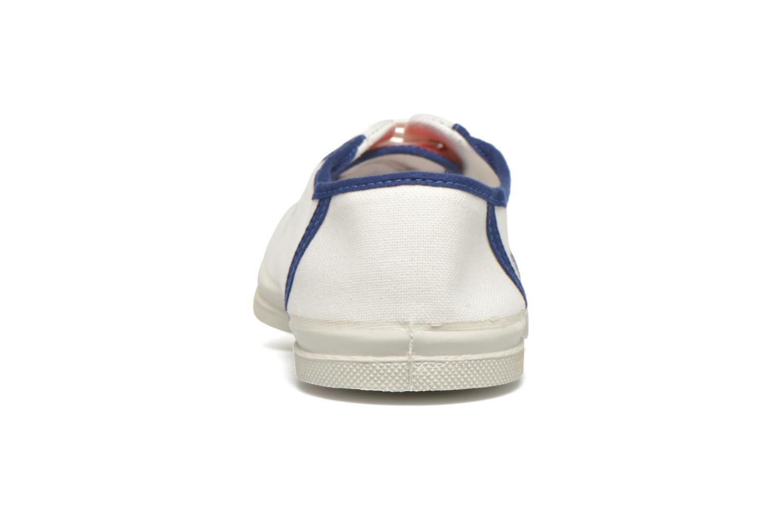 Trainers Bensimon Tennis Ines de la Fressange White view from the right