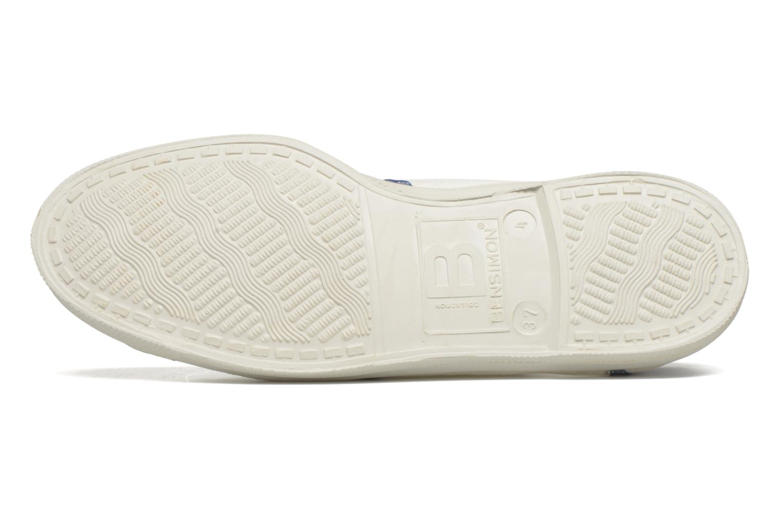 Trainers Bensimon Tennis Ines de la Fressange White view from above