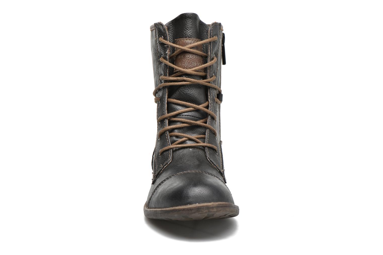 Bottines et boots Mustang shoes Erika Bleu vue portées chaussures