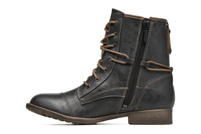 Bottines et boots Mustang shoes Erika Bleu vue face