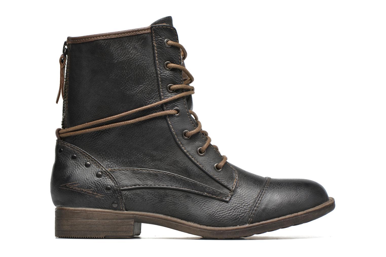 Bottines et boots Mustang shoes Erika Bleu vue derrière
