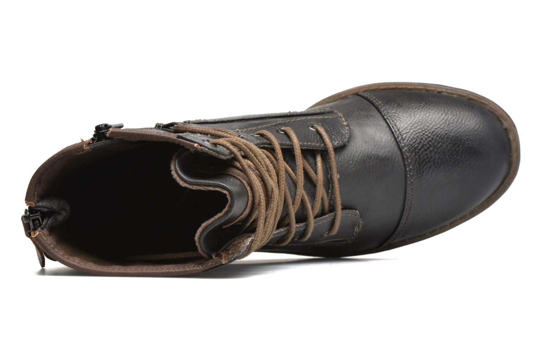 Bottines et boots Mustang shoes Erika Bleu vue gauche