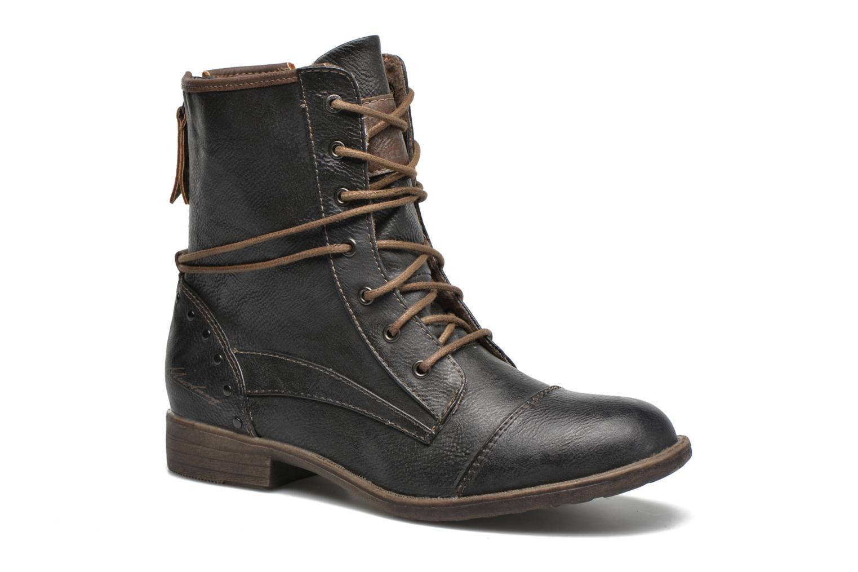 Bottines et boots Mustang shoes Erika Bleu vue détail/paire