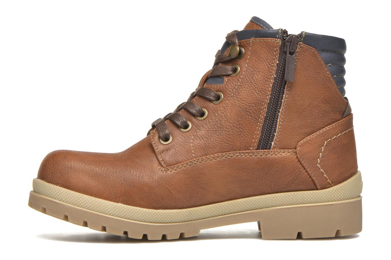 Bottines et boots Mustang shoes Hanne Marron vue face