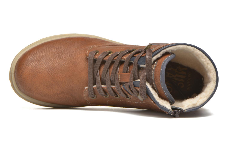 Stiefeletten & Boots Mustang shoes Hanne braun ansicht von links