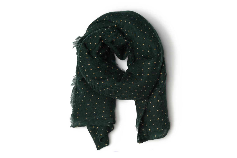 Divers Petite mendigote GINGER Foulard laine 100x200 Vert vue détail/paire