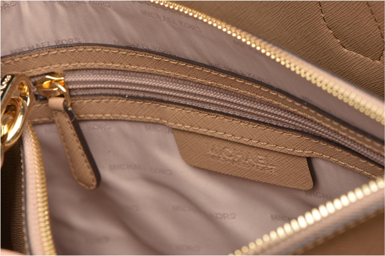 Handtaschen Michael Michael Kors MERCER LG Convertible Satchel braun ansicht von hinten