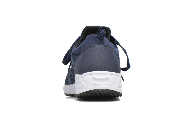 Baskets FILA Striker Low Bleu vue droite