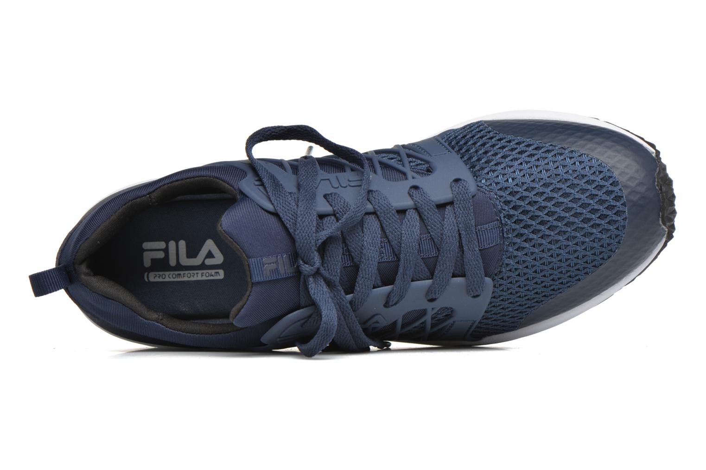 Baskets FILA Striker Low Bleu vue gauche